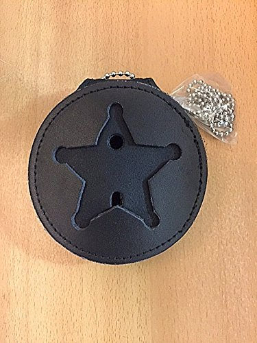 Deputy Sheriff Star - Hero's Pride Recessed 5 Point Badge Round Holder