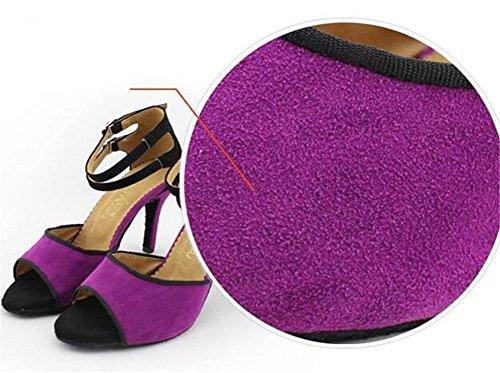 da pompe Danza donna Taglia XIE Taogo Sala 42 sandali EU40 A ballo da EU42 35 Velluto Scarpe latino HB1Axqw5