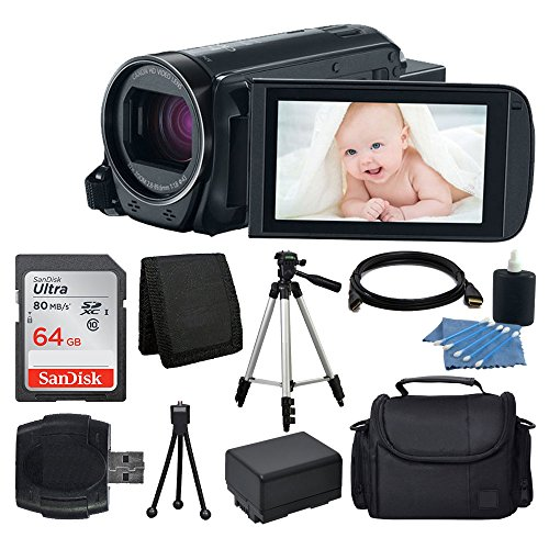 canon-vixia-hf-r700-full-hd-camcorder-black-64gb-sdhc-memory-card-camera-video-case-full-tripod-came