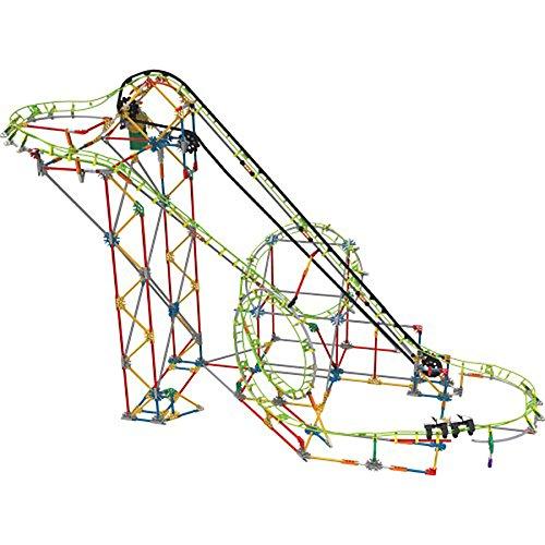 Knex Double Doom Roller Coaster Building Set Gear Apparel Toys  2017 Christmas Toys