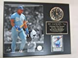 Bo Jackson Royals Collectors Clock Plaque w/8x10 Photo and Card