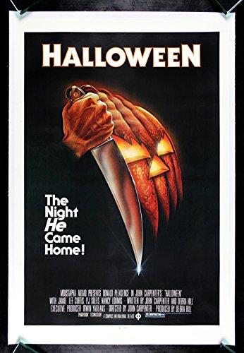 HALLOWEEN * CineMasterpieces 1978 SCARY HORROR ORIGINAL MOVIE POSTER