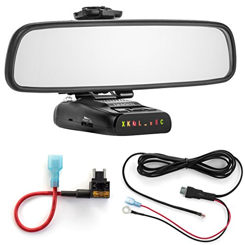 Radar Mount Mirror Mount Bracket + Direct Wire + Micro Add a Circuit for Uniden (3001509)