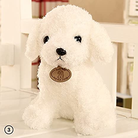 Perro de peluche Zhuotop de 18 cm, bonito y creativo, para almohada o regalo