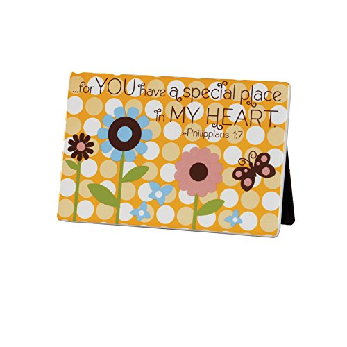 (Lighthouse Christian Products Special Place Dots Ceramic Plaque, 6 x 4