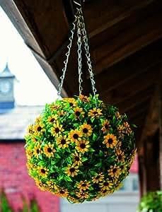 Gardman Floral Effect Topiary Ball