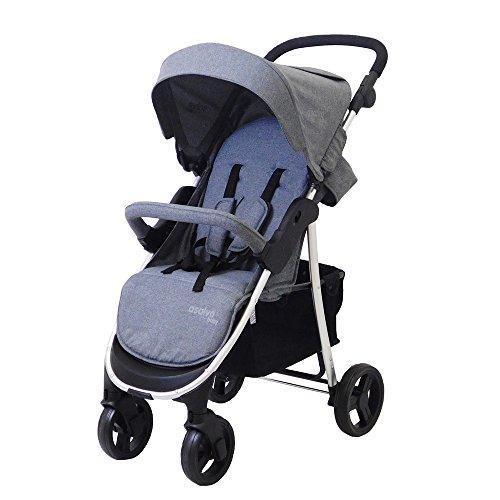 Asalvo-Stroller America Grey MALANGE, Color Gris 15884