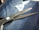 """Stanley 8"""" Premium Titanium Scissors with a"""