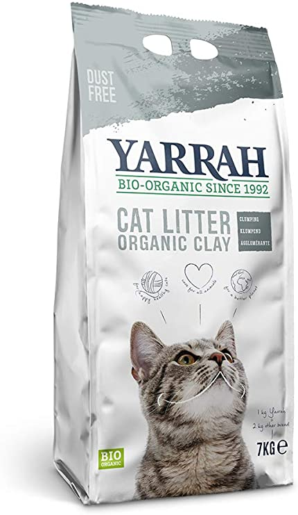 Yarrah - Arena para Gatos orgánica Super Absorbente 7 Kg: Amazon ...