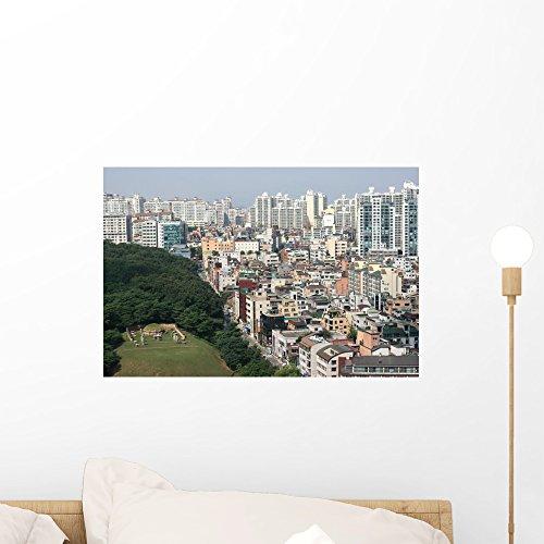 Wallmonkeys Gangnam District Korea Wall Mural Peel And Stick Graphic  18 In W X 12 In H  Wm321454