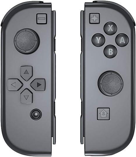 Joy-Con mando para Nintendo Switch, OIVO Izquierdo/Derecho Joy Con, Gris: Amazon.es: Videojuegos