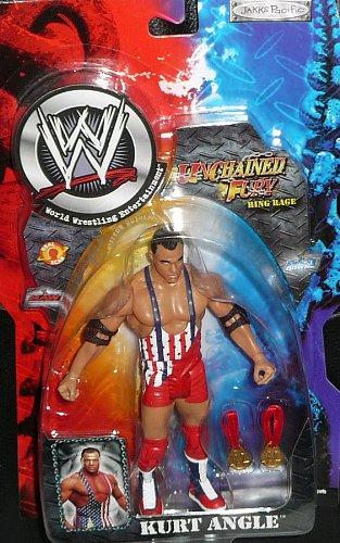 (WWE UNCHAINED FURY RING RAGE TAJIRI ACTION FIGURE)
