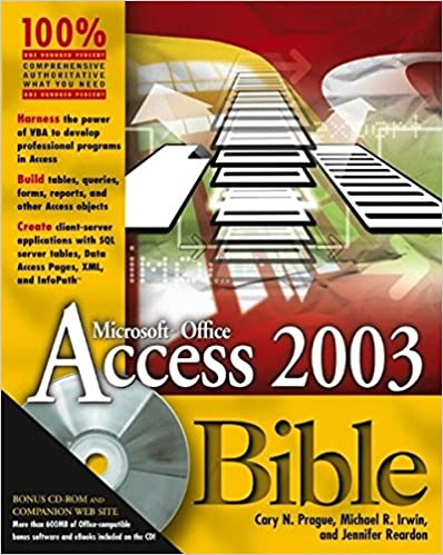 Access 2003 Bible: 9780764539862: Computer Science Books