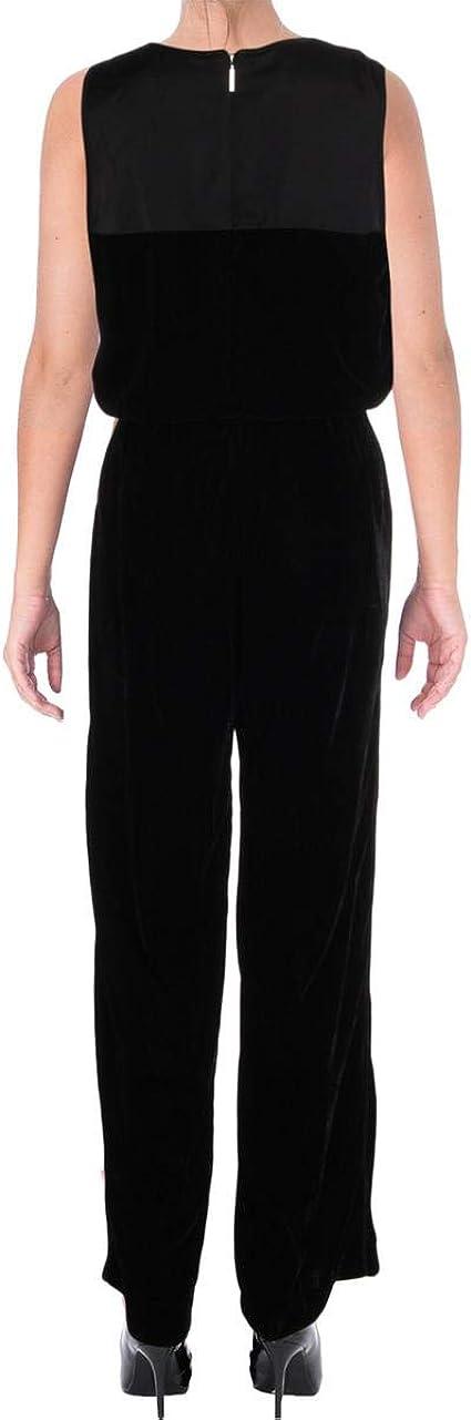 Zimaes-Women Short Sleeve Bodycon Belted Denim Playsuit Jumpsuit