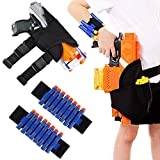 niceEshop(TM) Kids Tactical Waist Bag with 2 PCS Dart Wrister Bands for Nerf