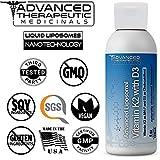 Advanced Liposomal Vitamin K2 with D3 – Pharmaceutical Grade Liquid Liposomes by Advanced Medicinal Therapeutics – 4 oz. No Soy, Non GMO, Vegan, Made in The USA For Sale