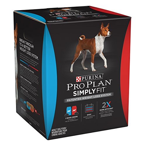 Purina Pro Plan Simply Fit Patented Weight Loss System Adult Dry Dog Food - 21.25 Lb. Bag