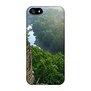 MeSusges Snap On Hard Case Cover Tennessee Woodls Protector For Iphone 5/5s