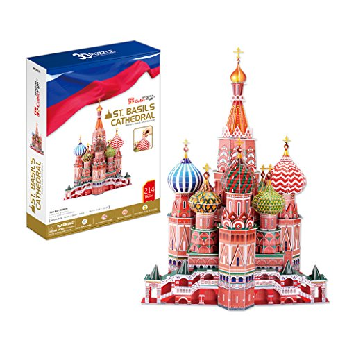 DARON ST BASIL'S CATHEDRAL 3D PUZZLE