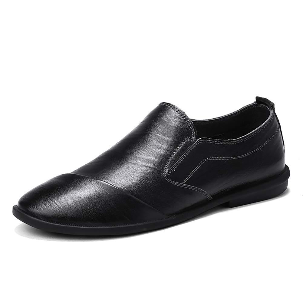 Männer Fahren Schuhe Premium Echtes Leder Fashion Slipper Geschäft Casual Slip-On Loafers