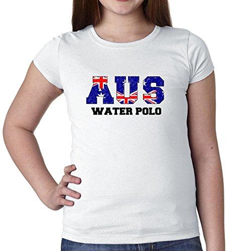 Australia Waterpolo - Olympic Games - Rio - Flag Girl's Cotton Youth - Australia Polo
