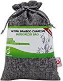 Buy More Save More Great Value SG Natural Bamboo Charcoal Deodorizer Bag Power Pack -MOST EFFECTIVE AIR PURIFIERS for Home,Allergies & Smokers. Portable Odor Eliminator,Car Air Freshener (Silver Grey)