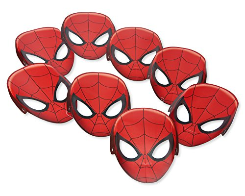 Spider-Man 8-Count Paper Masks -
