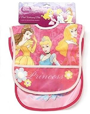 Princesses Two Pack Deluxe Vinyl Bib