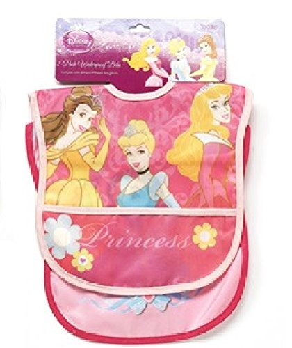 Princesses Two Pack Deluxe Vinyl Bib Regent Baby Products Disney P9445