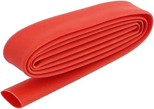 Heatshrink Tubo Eléctrico De Envolver Auto Cable//Conexión Tubería del Encogimiento Wrap-Rojo