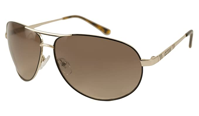 Amazon.com: Guess – Gafas de sol, Color 6744/marco: Oro y ...
