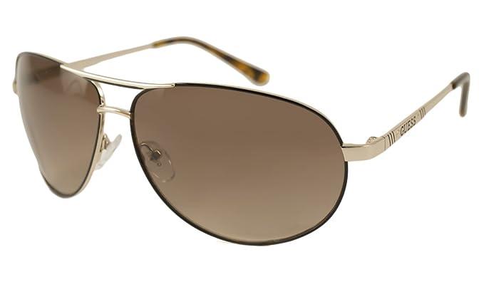 Amazon.com: Guess – Gafas de sol, Color 6744/marco: Oro y ...