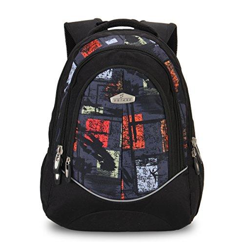 hynes-eagle-modern-print-children-school-backpack-green