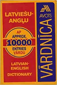 latvian to english dictionary free