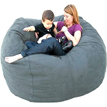 Amazon Com Cozy Sack 6 Feet Bean Bag Chair Large Earth