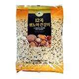 ROM AMERICA 12 Premium Mixed Grains with Quinoa Sweet Brown Rice Whole Barley 4 Pound - 12곡 퀴노아 영양미 잡곡