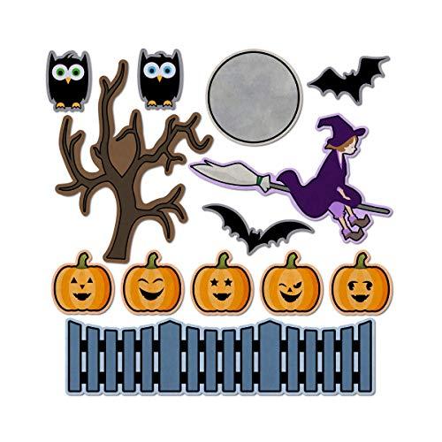 5 Little Pumpkins Halloween Nursery Rhyme Felt Play