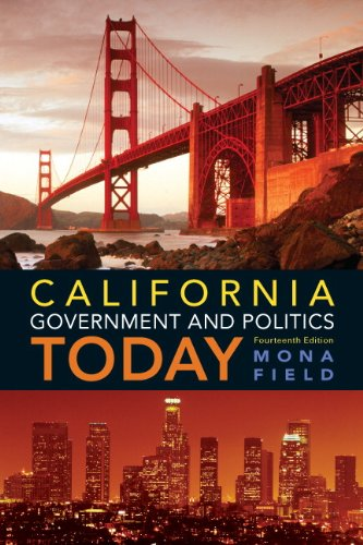 California Government and Politics Today (14th Edition) cover