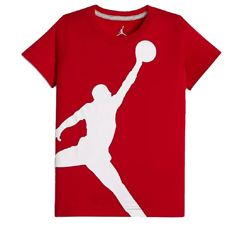 newest 78868 0486b Outfit him for the big time with the Nike Air Jordan Dri-FIT T-Shirt.  Whether he s on the school or at his practice, Dri-FIT fabric works to wick  away ...