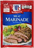McCormick Meat Marinade, 1.12 Ounce (Pack of 12)