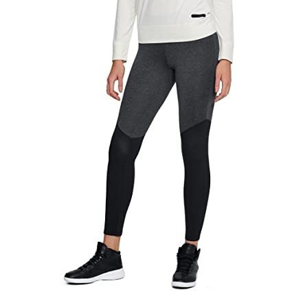 e6170668f23300 Amazon.com : Under Armour Women's UA Unstoppable Ribbed Leggings SM ...