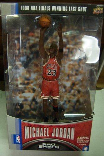 Upper Deck 1998 NBA Finals Winning Last Shot Michael Jord...