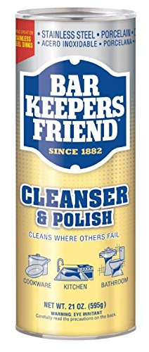 Bar Bowl (Bar Keeper's Friend Cleanser and Polish, 21 Ounce, Pack of 4)