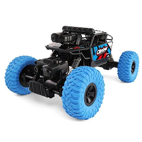 4wd Nitro Rc Car (ZZSYU JJRC Q45 Remote Control Car 4WD HD Camera Wifi FPV 1:18 2.4G Off-Road RC Car Toy (Blue))