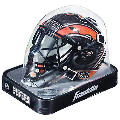 Franklin Sports NHL League Logo Philadelphia Flyers Mini Goalie Mask ()