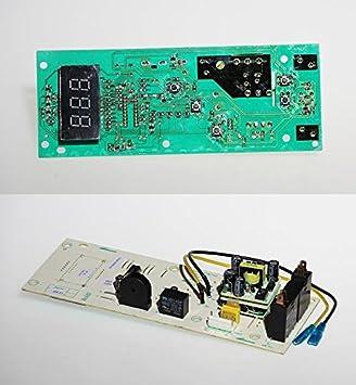 DeLonghi tarjeta PCB pantalla Horno Microondas Combinado Grill mwj63