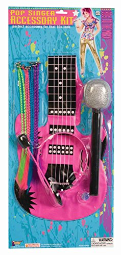 [Forum Novelties Women's 80's To The Maxx Pop Singer Costume Accessory Kit, Multi, One Size] (Singer Fancy Dress Costumes)