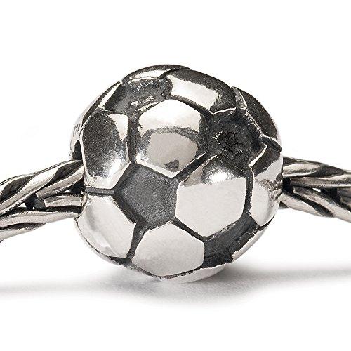 Trollbeads - 11519 - Drops Femme - Ballon de football - Argent 925/1000