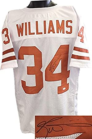 Ricky Williams Signed Jersey - White Custom Stitched XL Heisman)- Hologram  - JSA Certified - Autographed NFL Jerseys at Amazon s Sports Collectibles  Store 38c31462b