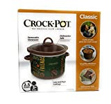 Cheap Limited Edition Classic Crock Pot Slow Cooker 2.5 Quart (Fall Green)